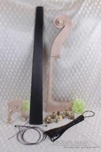 New 3/4 Upright double bass Neck Peg Tailpiece Fingerboard Bridge Bass accessory