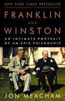 FRANKLIN AND WINSTON by Jon Meacham FREE SHIPPING paperback book FDR history