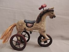 Horse of Softwood Paited- Imported of AE. Snuider Greece 19x17cm