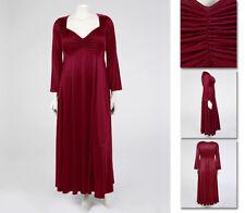 NEW Zaftique CINCHED BORDEAUX GOWN Satin Dress 0Z 4Z / 14 16 28 / L XL 1X 3X 4X