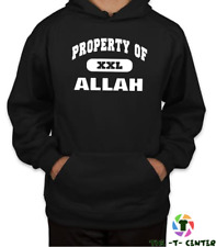 PROPERTY OF ALLAH HOODIE AS WORN BY MIKE TYSON BOXING SWAG TOP RELIGION GYM
