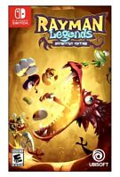 NEW / SEALED Rayman Legends: Definitive Edition (Nintendo Switch) Free Shipping