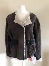 Isabel Marant Shearling Coat Jacket New UK 8 FR 36