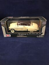 American Classics1950 Chevy Bel Air Yellow Tan Die-Cast  Motor Max 1:24 NIB