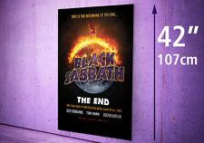 "BLACK SABBATH The End 17 Tour PHOTO Print MAXI - POSTER 42"" 107cm 91.5cm STICKER"