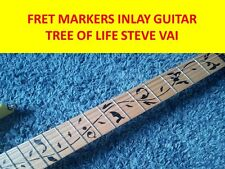 FRET MARKERS INLAY TREE OF LIFE BLACK STICKERS VISIT OUR STORE WITH MORE MODELS