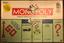 1977 Monopoly Board Game Short Rules Complete with all parts