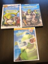 Lot Of 2 DreamWorks SHREK & SHREK 2 & Sheri 3D Special Edition DVD's