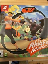 Ring Fit Adventure Nintendo Switch- Ring, Leg Strap And Game Included- BNIB!