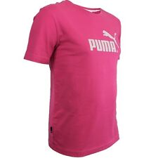 Puma Large No. 1 Tee women's T-Shirt pink/white sport fitness casual shirt NEW