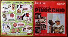 ALBUM FIGURINE LE AVVENTURE DI PINOCCHIO - PANINI 1972 - COMPLETO - MOLTO BUONO