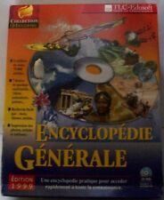 Encyclopédie générale 1999. Collection CD ENCYCLOPEDIA. CD-Rom. Windows 95/98.