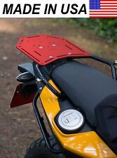 AVT BMW F650GS Twin / F700GS / F800GS Rear Luggage Rack - ROTOPAX Compatible RED