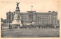 BR94634 queen victoria memorial and buckingham palace london  uk