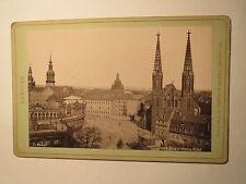 Dresden - Blick v. Webers Hotel - 1889 / KAB