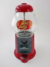 Jelly Belly Mini Bean Machine Dispenser Glass & Metal Bank | Tested