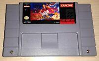 Disney's Aladdin Super Nintendo SNES Vintage classic original game cartridge