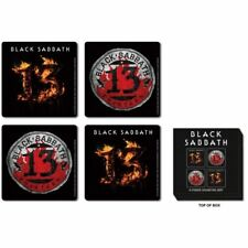Black Sabbath 13 Drinks Coasters Album Cover Gift Set Box Official Fan Item