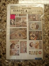 Old Time Circus & Movie Posters Scale Structures Limited M402 Ss4122