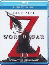 Blu Ray WORLD WAR  Z 3D (Blu-Ray 3D + Blu-Ray Disc Contenuti Spec.) .....NUOVO