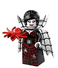 Lego 71010 Series 14 Monsters Minifigure - Spider Lady Vampire - New and Mint