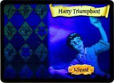 """Harry Potter AaH holo foil card """"HARRY TRIUMPHANT"""""""