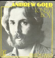 7inch ANDREW GOLD lonely boy HOLLAND EX 1976