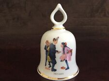 """First Dance� Vintage Norman Rockwell Collectible Bell - 1979 Ltd Ed."