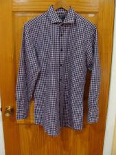 // Authentic Boss Hugo Boss Men's Check Long Sleeve Dress Shirt Size 16.5