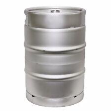 1/2 Barrel Stainless Steel Commercial Beer Half Keg 15.5 Gallon Sanke D Spear