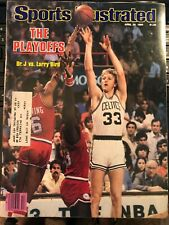 Larry Bird Sports Illustrated  1980 Playoffs vs Dr. J - MINT