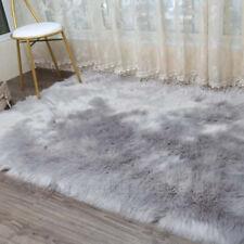 New Faux Fur Area Rugs Hairy Shaggy Large Faux Sheepskin Balcony Carpet Washable