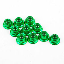 10pcs Alloy Anti-Loose Wheel Rim Lock Nuts 00004G For 1:10 RC Racing Drift Car