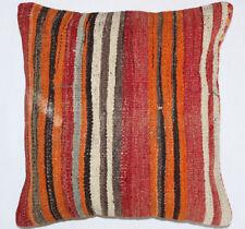 Kelim Kissen 40x40cm Kilim Cushion Kissenbezug Pillow Dekokissen Türkei Neu K738