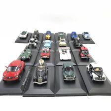 lot de 5 voitures 1/43 parmi 18 voitures neuf altaya ixo sur socle plastique