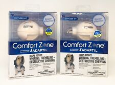 Comfort Zone Adaptil Diffuser and Refill Kit for Dog Calming - 2Pk *New*