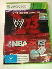 WWE 13 and NBA 2K13 The 2K Sports Collection Xbox 360