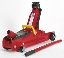 TROLLEY JACK 2 TONNE WITH LOW ENTRY FOR LOWERED CARS - SHORT BASE JACK