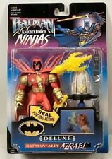 Kenner Batman Knight Force Ninjas Azael with Real Punching Action Action Figure