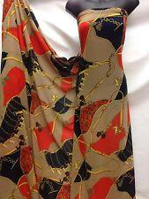 Diseñador Vestido de tela impresión de Gasa Multicolor Artesanía Boda Luz