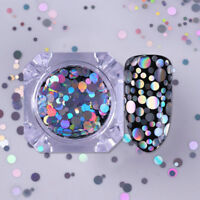Holo Nail Glitter Sequins Flakes Laser Nail Art Mixed Size Tips Born Pretty H7