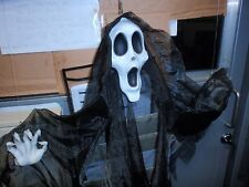 Gemmy Floating Grim Reaper Motion Activated Animated Halloween Prop 2004