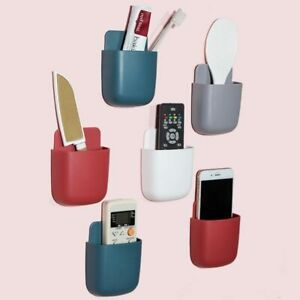 Remote Control Storage Box Wall Mounted Storage Organizer for Wall Phone Holder