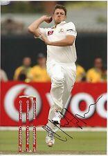 JAMES PATTINSON - Signed 12x8 Photograph - SPORT - AUSTRALIA CRICKET