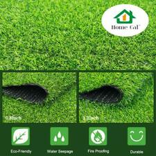 Rubber Backing Synthetic Artificial Grass for Outdoor Decor, Spring Grass,3x5ft