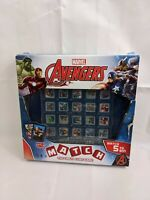 Marvel Avengers- Match The Crazy Cube Game Top Trumps-Children-Family-Present
