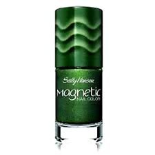SALLY HANSEN Nail Polish Color EMERALD Green Metallic MAGNETIC Free SHIPPING New