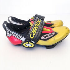 Carnac TRS 5 Carbon Triathlon Cycling Shoes Sz 36 Made in France Mens/Womens