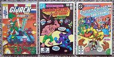 G.I. Jack Rabbits #1 & Captain Carrot #11,12 Comic Lot of 3