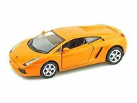 "Brand New Kinsmart 5"" Lamborghini Gallardo Diecast Model Toy Car 1:32- Orange"